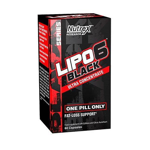 Nutrex Lipo 6 Black Ultra Concentrate, 60Kaps