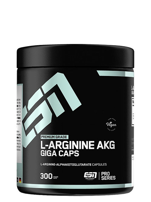 ESN L-Arginine AKG Giga Caps, 300Kaps