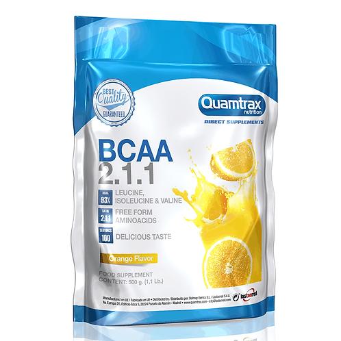Quamtrax BCAA 2.1.1, 500g