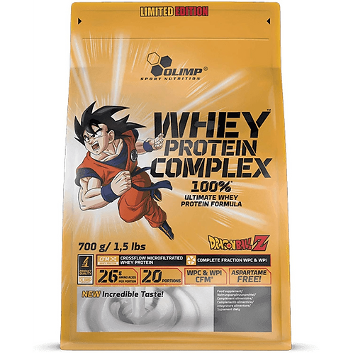 Olimp Whey Protein Complex 100%, Limited Edition, Dragon Ball, 700g, 2270g,