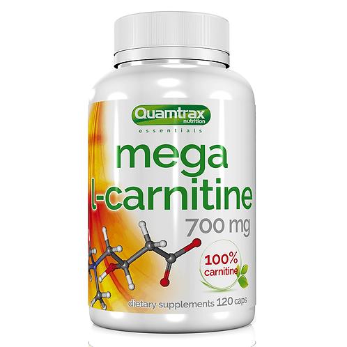 Quamtrax Mega L-Carnitine 700mg, 120Kaps