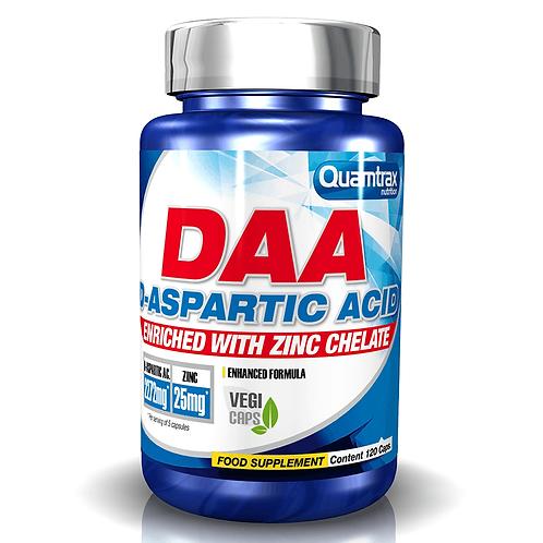 Quamtrax DAA Aspartic Acid, 120Kaps