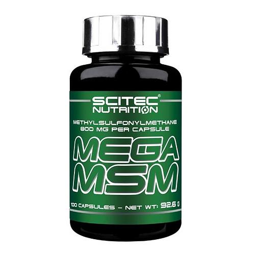 Scitec Nutrition Mega MSM, 100 Kaps