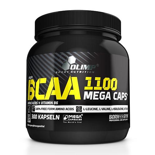 Olimp BCAA 1100 Mega Caps, 300Kaps