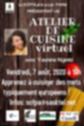 Copy of Cooking event flyer template - M