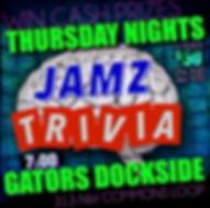 Jamz Trivia Thursday Gator's.png