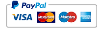 paypal, visa, maestro, mastercard, amex