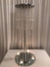 Waterfal Chandelier Centrepiece - Exquisite Collection - Venue Decoration Kent Essex Sussex Surrey