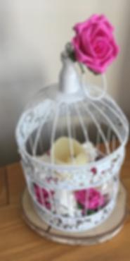 Bird Cage Centrepiece - Wedding Centerpiece Hire in Kent - Venue Decoration in Kent