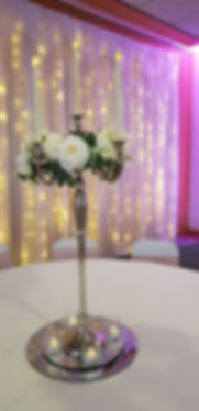 Candelabra Centrepiece - Wedding Centerpiece Hire in Kent - Venue Decoration in Kent