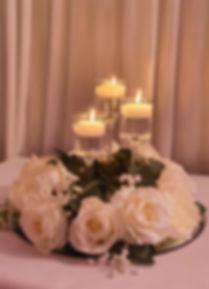 Candlelit Wreath Centrepiece - Venue Decor Kent