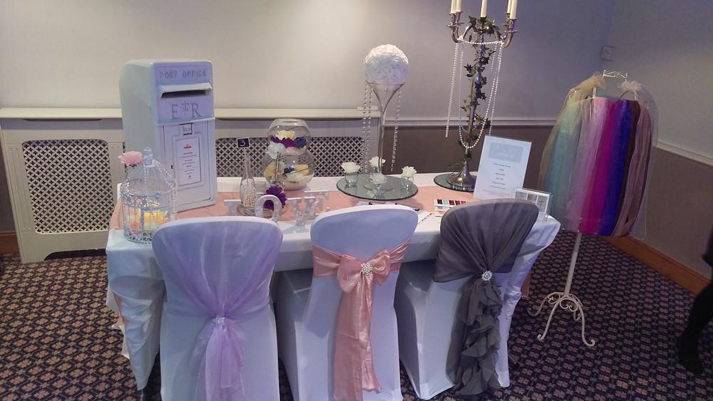 Bridgewood Manor Hotel Wedding Venue Decoration, Fair Set Up