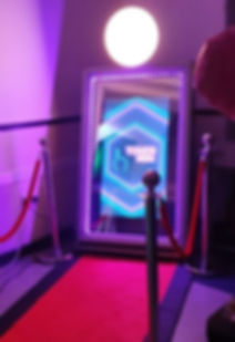Magic Mirror Photobooth Hire in Kent from Embellish Venue Styling & Photo Booths