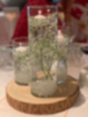 Cylinder Vase Centrepiece - Wedding Centerpiece Hire in Kent - Venue Decoration in Kent
