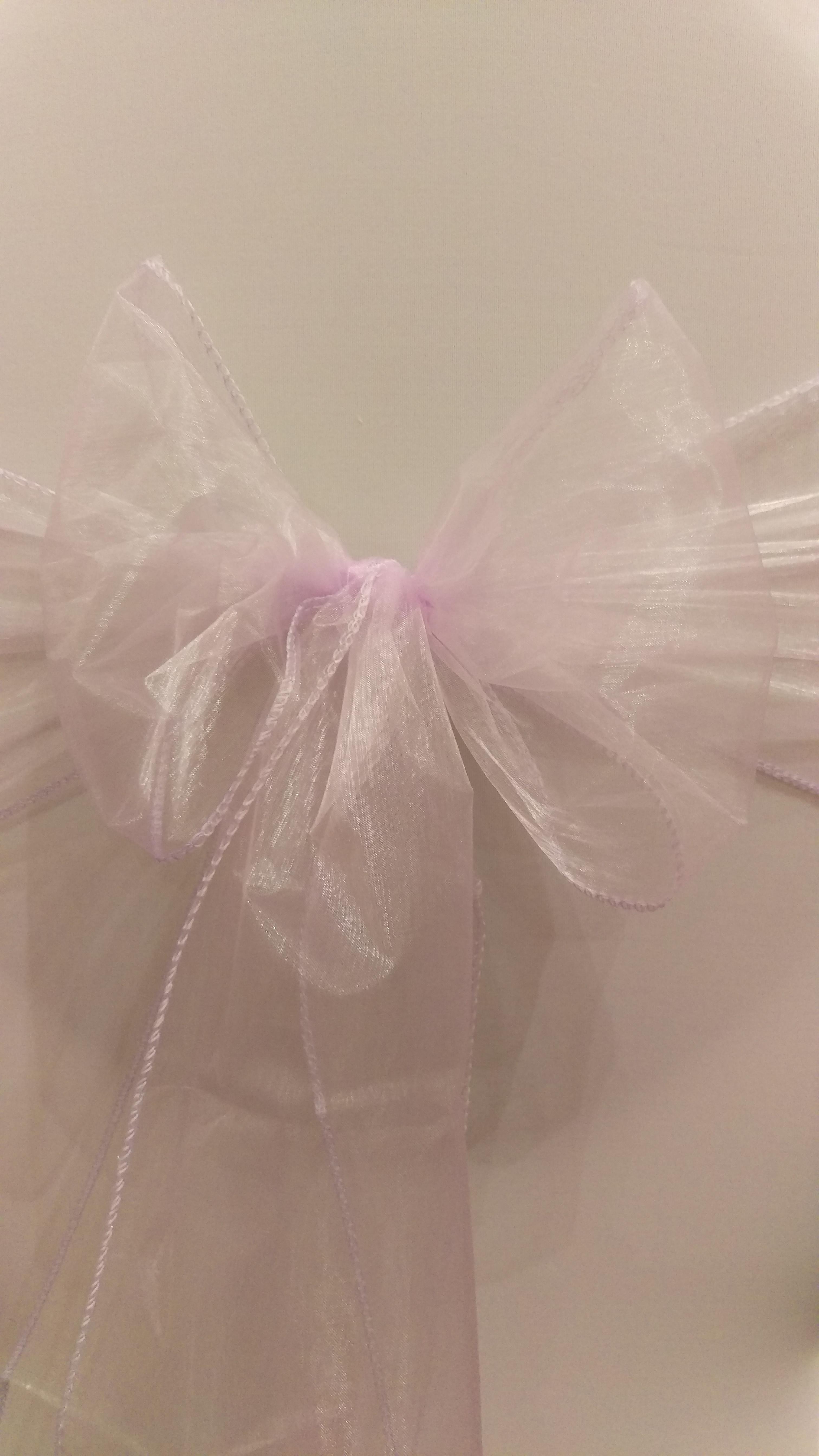 Lavender Organza Sash #8