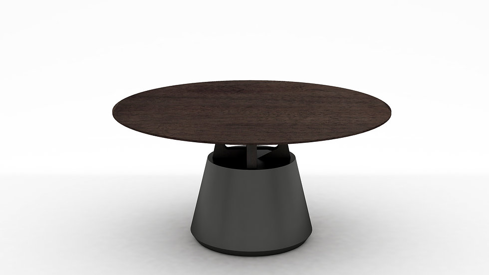 Unity Round Dining Table - 59""