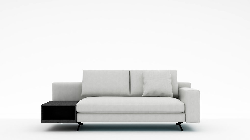 Wake Sofa with Side Table