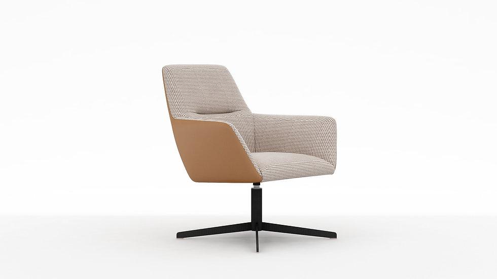 Qing Low Back Swivel Chair