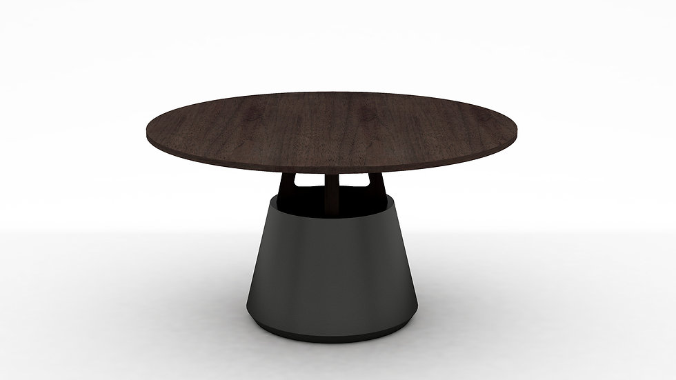 """Unity Round Dining Table - 53"""""""