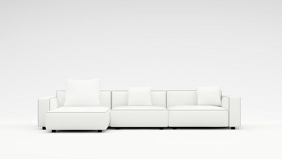 Rubix Sectional Sofa - LAF