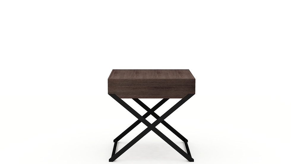 Enzo Side Table with Drawer