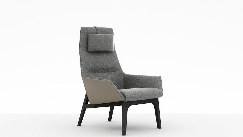 Qing High Back Chair