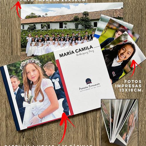 CAS 21 - Opción 2: MAGAZINE / BOOK + Fotos impresas