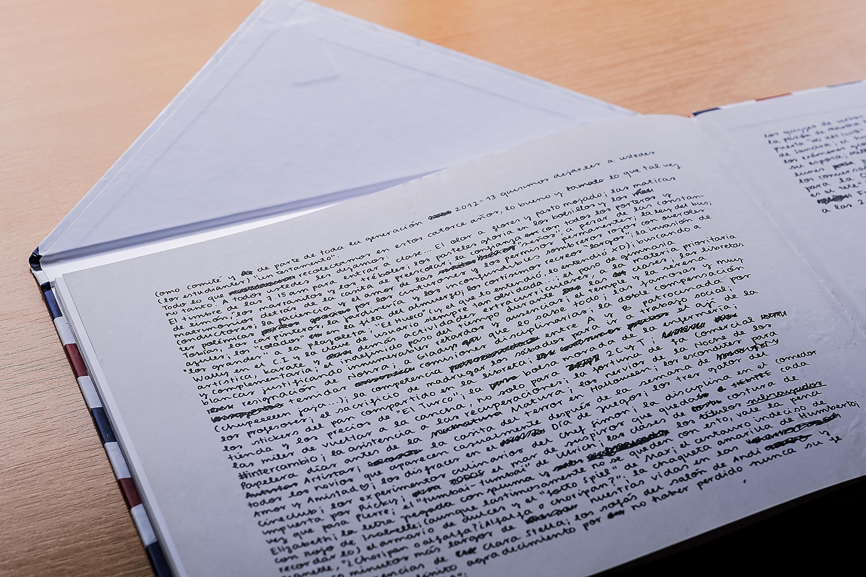 Anuarios y agendas para colegios