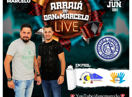 Arraiá do Dan & Marcelo - LIVE 19/06