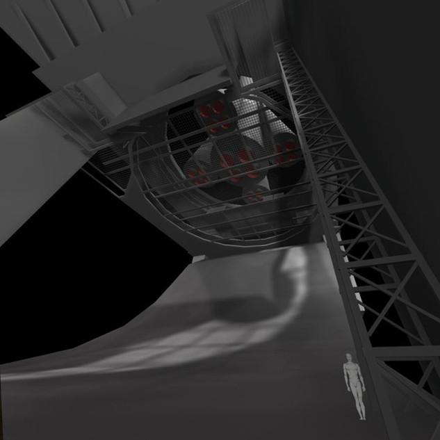Cosmodrome Gantry Block out