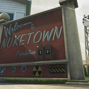 Nuketown In-game