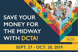 DCTA's State Fair of Texas Ticket Combo Deal