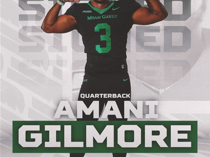 Kentucky Transfer QB Amani Gilmore joins the Mean Green Family