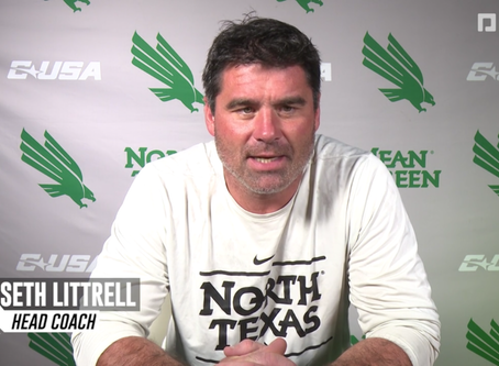 Mean Green Football Confident to Bounce Back