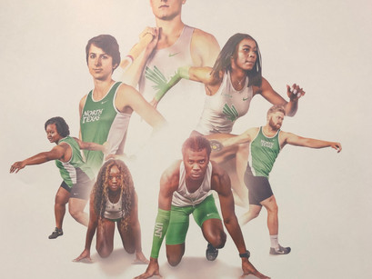 UNT Track and Field breaking records early in the season