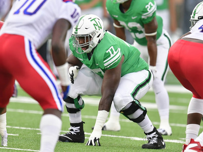 Former Mean Green OL Elex Woodworth joining Houston Texans