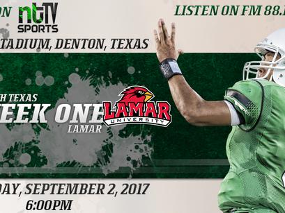 North Texas Season Opener vs Lamar