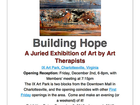 Building Hope - A Juried Exhibition of Art by Art Therapists