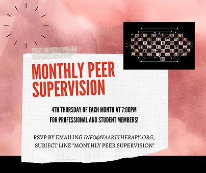 Monthly Peer Supervision - Member Perk.p