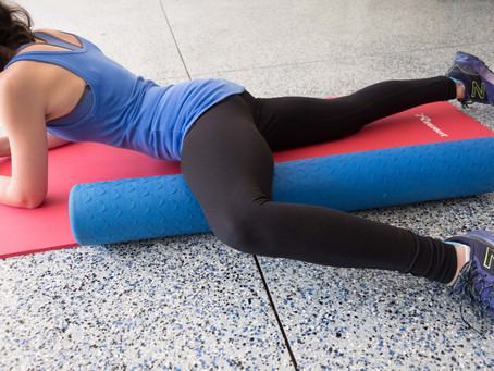 Foam roll to Look younger