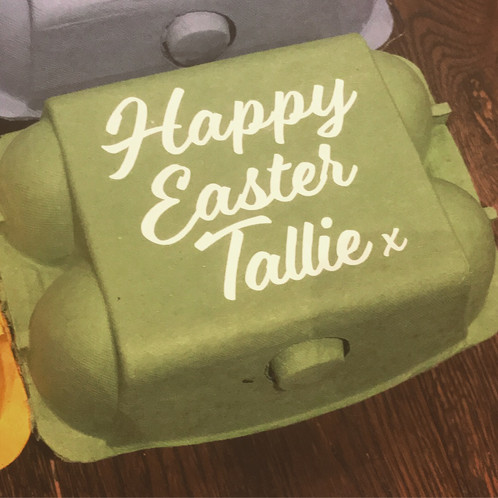 Personalised easter egg box personalised gifts homeware our personalised easter egg boxes are a great way to add a bespoke personalised touch to any easter gift they can be filled with chocolate eggs negle Choice Image