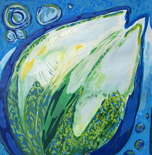 Blue Flow II