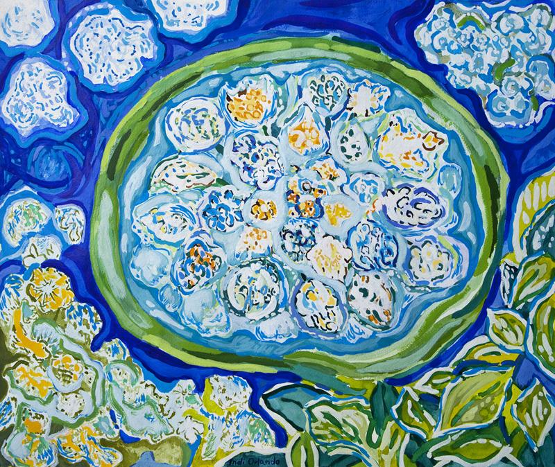 Blue Flow I