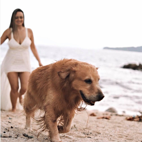 Aquele pré wedding com a familia toda