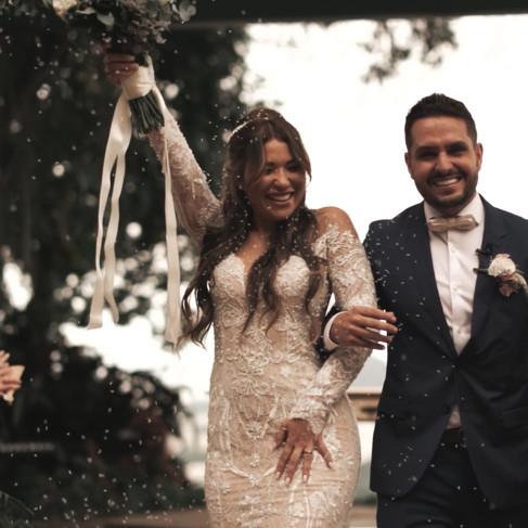 Casamento lindo em Santa Tereza