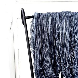 First batch of my own true farm yarn. Ma
