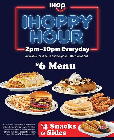 IHOPPY Hour $6 Menu_$4 Snacks_Sides E-BL