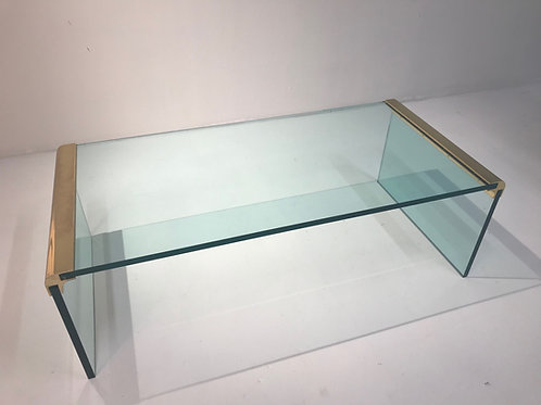 Minimal Pace Collection Waterfall Coffee Table