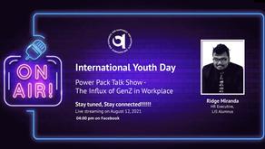 Tete-a-tete talk show with Ridge Miranda - Youth Day Celebration