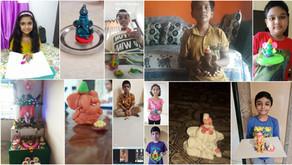 Eco Friendly Ganesha Clay Modelling